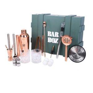 Bar Box Bartender Kit 2.0 Upgraded 29 Piece Bar Tool Set