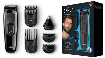 braun-trimmer-शेविंग मशीन